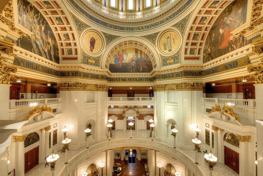 Main Rotunda, Harrisburg Capitol